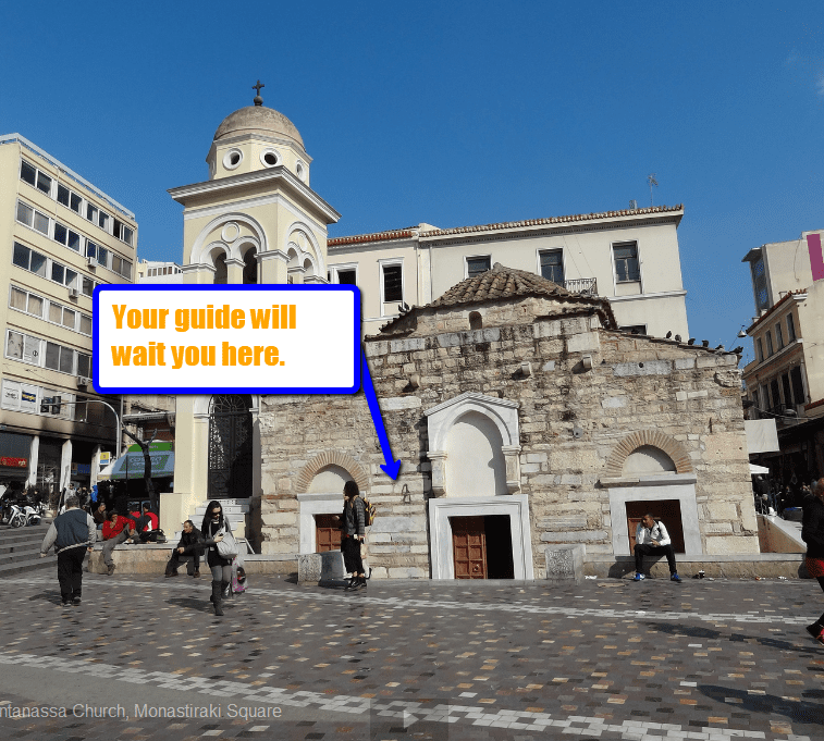 Monastiraki square photo