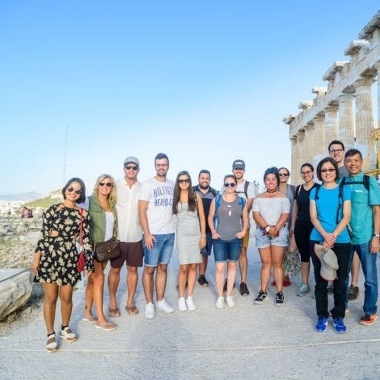 Visiting Acropolis and the Parthenon