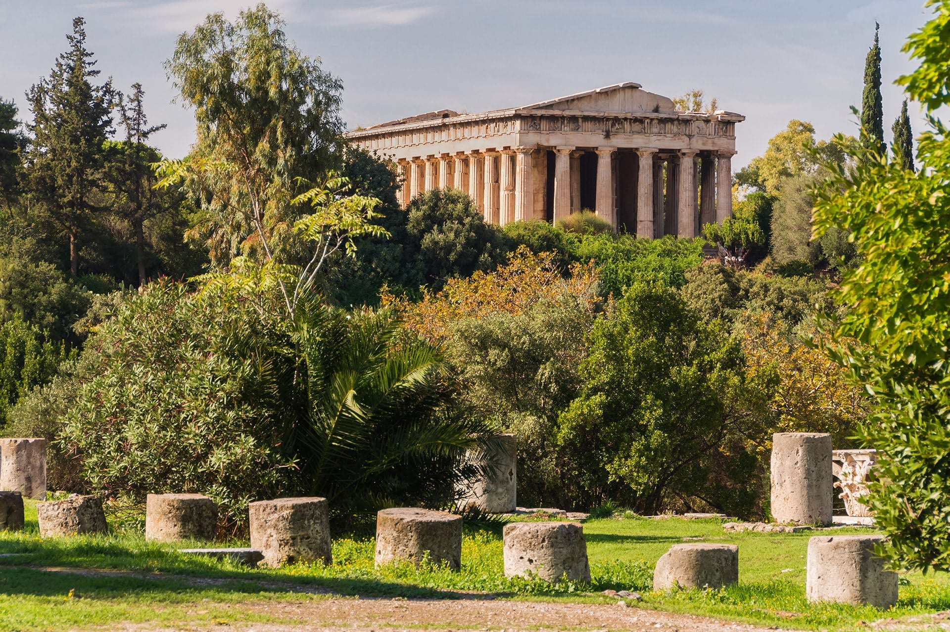 Acropolis of Athens and Ancient Agora tour